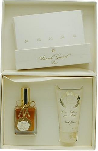Grand Amour By Annick Goutal For Women. Set-eau De Parfum Spray 1 Ounces & Body Cream 2.5 Ounces & 15 Butterfly Note Cards & ()