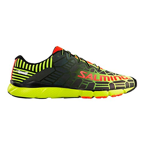 Salming Speed 6 Shoe Fluo Yellow Black Black