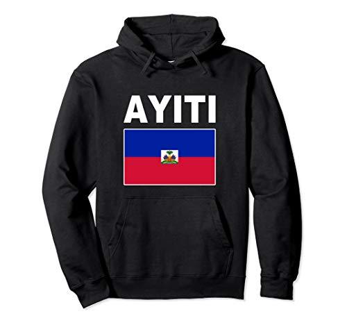 (Flag Haiti Pullover Hoodie Republic Haitian Ayiti Flags Top)