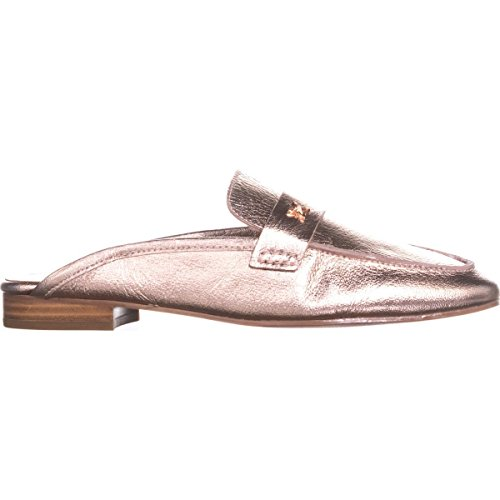 BCBGeneration Womens Sabrina Leather Closed Toe Slide Flats Rose Gold cheap best prices shop for cheap online discount big discount outlet lowest price discount shop offer 6BEqUsa