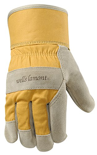 Wells Lamont 4113S Women'S Suede Leather Palm Work Gloves, Small