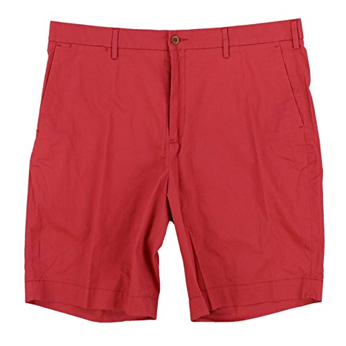 Polo Ralph Lauren Mens Stretch Classic Fit Chino Shorts (35, Red)