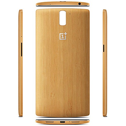 online store 2c278 24083 Whiteoak Oneplus One Bamboo StyleSwap Cover Case with Button and NFC ...