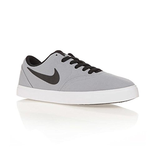 Nike SB Check Cnvs (GS), Zapatillas de Skateboarding para Niños, Gris (Wolf Grey/Black/White 004), 37.5 EU: Amazon.es: Zapatos y complementos