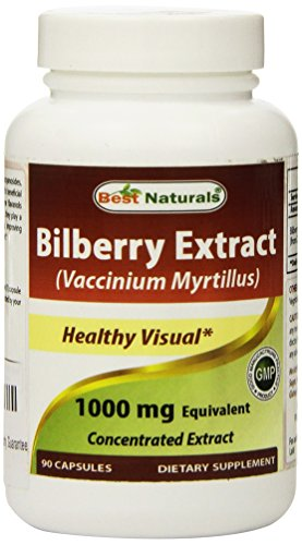 Best Naturals Bilberry 1000 Capsules product image