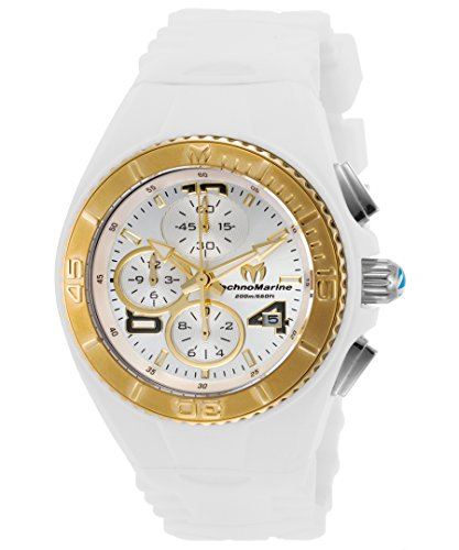 technomarine-womens-cruise-quartz-stainless-steel-and-silicone-casual-watch-colorwhite-model-tm-1151