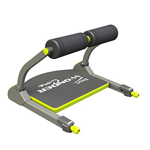 Wonder Core Smart Fitness Equipment Black Green Import