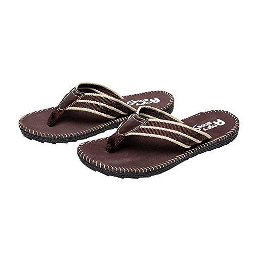 ea41d11be405d Desen Mens Flip Flops Summer Beach Thong Shoes House Slippers for Men  Casual Fisherman Slides Faux