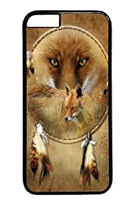 Dreamcatcher Fox PC Case Cover for iphone 5C inch Black