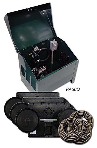 1/2 HP Sentinel Rocking Piston Deluxe Pond Aeration System PA66D Includes Steel Cabinet by EasyPro Pond Products