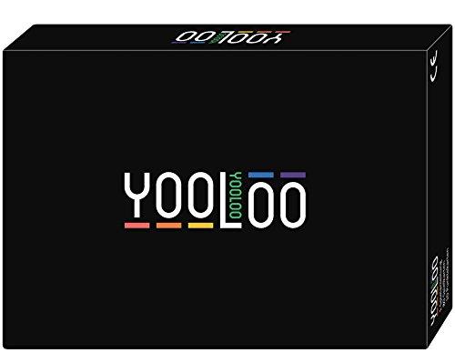 YOOLOO - Das kinderleichte Kartenspiel für die gesamte Familie oder als Trinkspiel für Erwachsene - Gesellschaftsspiel - NEUHEIT 2016 - (3 bis 8 Personen)