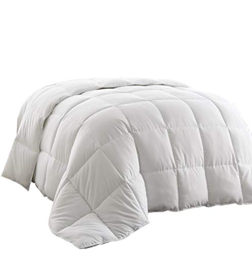 Chezmoi Collection, All Season Down Alternative, Comforter Duvet Insert, King, White (Polyester Duvet Insert)