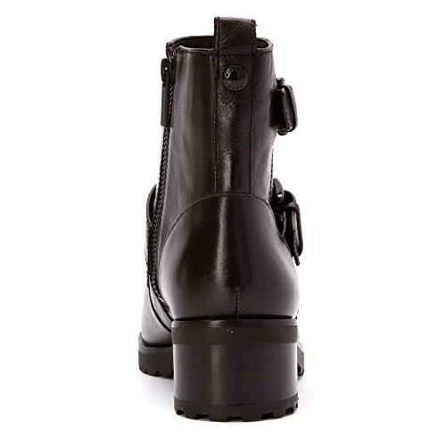 Michael Kors Michael Kors Womens Short Boot 40F5GRME6L DISTRESSD VACHE 001 BLACK NERO Black