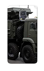 Anti-scratch And Shatterproof May5th Rehearsal Of 2014 Victory Day Parade In Moscow Russia Red Star Russian Military Phone Case For Galaxy S5/ High Quality Tpu Case