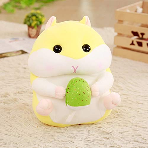 TREGIA Babiqu 1Pc 20/30/40Cm Hamster with Snack Pillow Down Cotton Plush Toy Soft Stuffed Doll Cushion Cartoon for Child Kid Holiday Must Haves Friendship Gifts Girls Favourite Characters by TREGIA