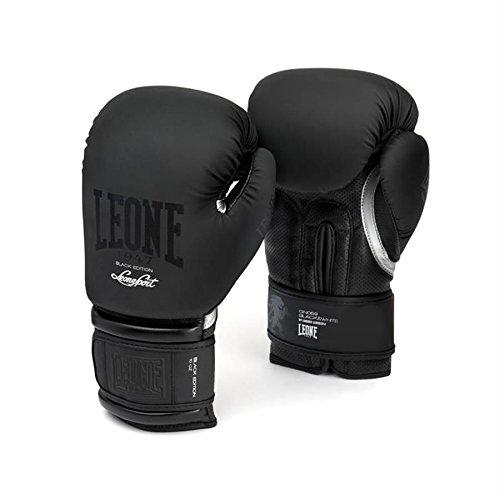 Boxing Kick Boxing Muay Thai Gloves | Black Edition | LEONE 1947 – DiZiSports Store