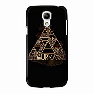 Cover Shell Stylish Creative Golden Design Alternative Rock Band 30 Seconds To Mars Phone Case Cover for Samsung Galaxy S4 Mini 30STM Special Style