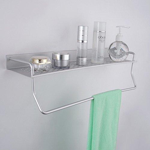 WCZ La Bandeja de 104450 cm con los Utensilios de Cocina de mástil cuelga los estantes Colgantes de Aluminio Estantes para ducha