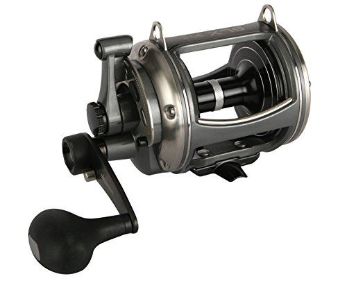 Okuma Fishing Tackle Solterra SLX-30II Two Speed Closed Frame Lever Drag Reel (Two Speed Reels)