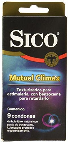 Sico Mutual Climax, Cartera de 9 Condones