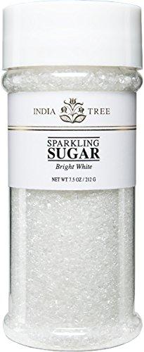 (India Tree Bright White Sparkling Sugar, 7.5 oz (Pack of 3))