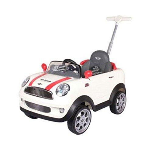 Prinsel Vehículo de Empuje Mini Cooper, color Blanco