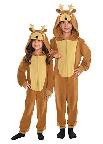 [Little Girls' Zipster Reindeer or Costume] (Reindeer Costume For Kids)