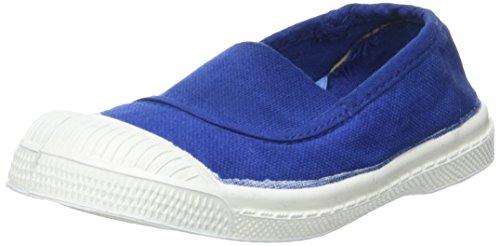 Bensimon Tennis Elastique Enfant - Botas Unisex Niños Azul (Bleu Vif)