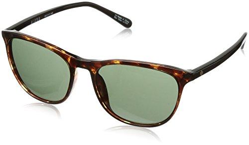 Spy Optic Cameo Wrap Sunglasses, Alana Dark Tort/Black/Happy Gray/Green, 1.5 - Spy Com Sunglasses
