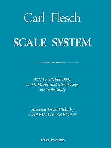 (Scale System: Scale Exercises in All Major and Minor Keys for Daily Study Adapted for the Viola Paperback June 15, 1942)