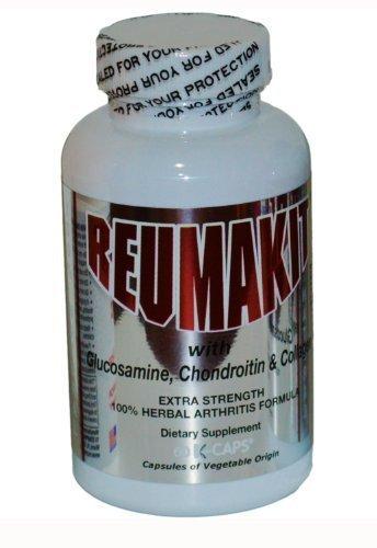 Reumakit Caps with Glucosamina, Chondroitin & Collagen by TV Compras USA