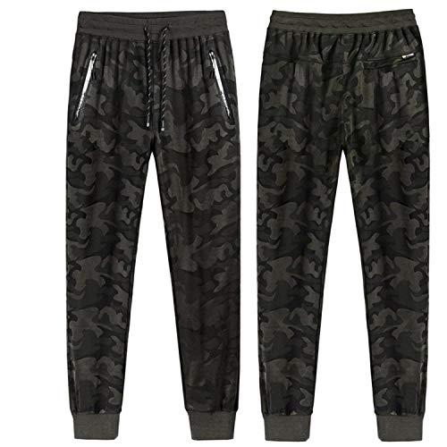 Deportivos Military Los Hombres Chicos Pantalones Jogging Clásico Elástico Sueltos De Moda Camuflaje Vintage c1a7Ug