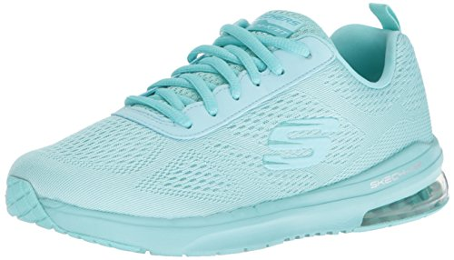 Skechers Sport Women's Skech Air Infinity Vivid Color Fashion Sneaker, Mint, 9 M US