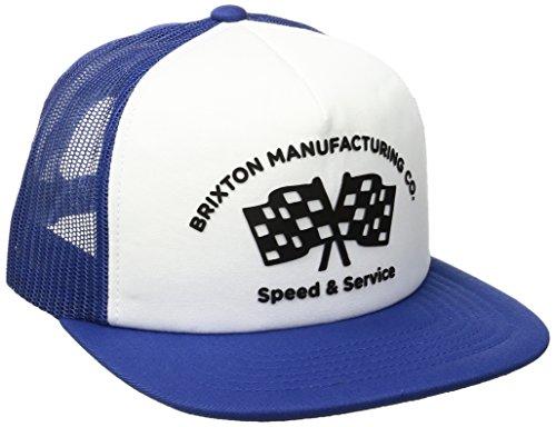 Brixton Men's Burnout Mesh Cap, Royal/White, One Size ()
