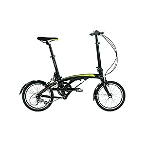"Dahon EEZZ D3 Folding Bike Sable 16"" Wheel"