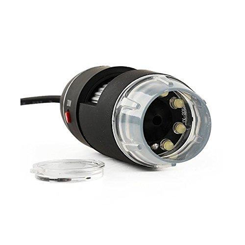 Digital Microscope USB 8 LED 50X-500X 2MP Endoscope Magnifier Video Camera by Eramaix (Image #2)