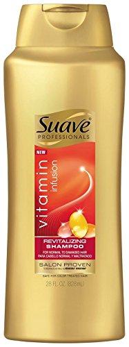Suave Professionals Revitalizing Shampoo Vitamin Infusion, 28 Ounce