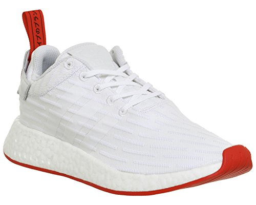 adidas Originals NMD_R2 PK, ftwr white-ftwr white-core red footwear white-footwear white-core red (BA7253)