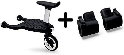 Amazon.com: Bugaboo Confort con ruedas Junta con adaptador ...