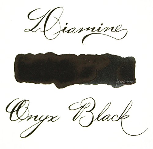 Diamine Fountain Pen Ink - 80 ml - Onyx Black by Diamine (Image #2)