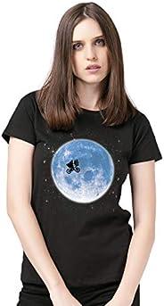 Camiseta E.T. And The Moon Feminina Oficial