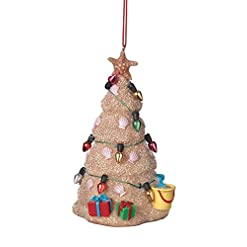 Beach Themed Christmas Ornaments Midwest Sand Beach Christmas Tree Hanging Resin Christmas Ornament (2 inch) beach themed christmas ornaments