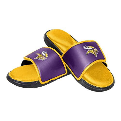 76340c0627d Minnesota Vikings Flip Flops