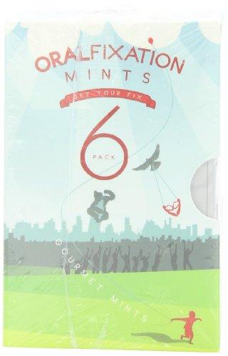 Oral Fixation Mints, Variety Pack of Six Flavors - Bonbons für frischen Atem - 6 Geschmacksrichtungen - aus USA