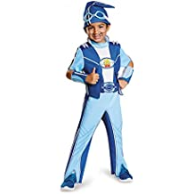 Kid's Deluxe Lazy Town Sportacus Costume (Size: Small 4-6)