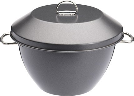 Kitchen Craft KCMCHB61 Master Class Non-Stick 2 Litre Pudding Steamer
