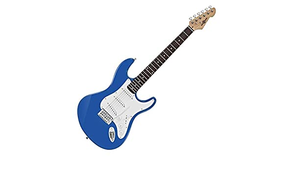 Guitarra Electrica LA de Gear4music - Azul: Amazon.es ...