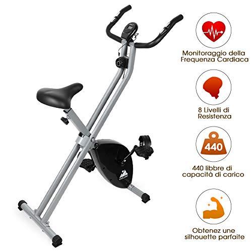 🥇 EVOLAND Bicicleta Estática Plegable