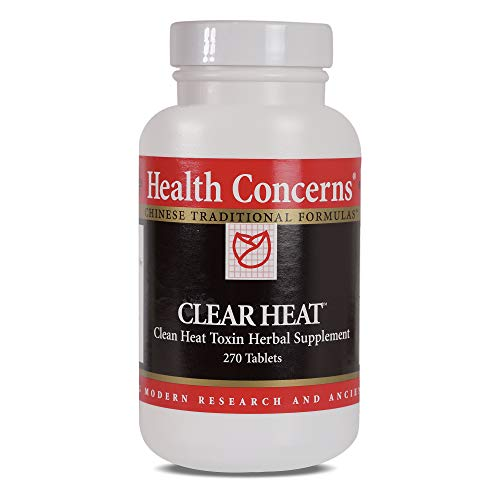 Health Concerns - Clear Heat - Clean Heat Toxin Herbal Supplement - Modified Chuan Yin Lian Kang Yang Pian - Supports Immune System - 270 Tablets
