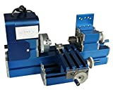Metal Lathe - KOHSTAR Mini Turning Lathe Machine For DIY Soft Metal/Wood Working & Student Hobby Modelmaking ...